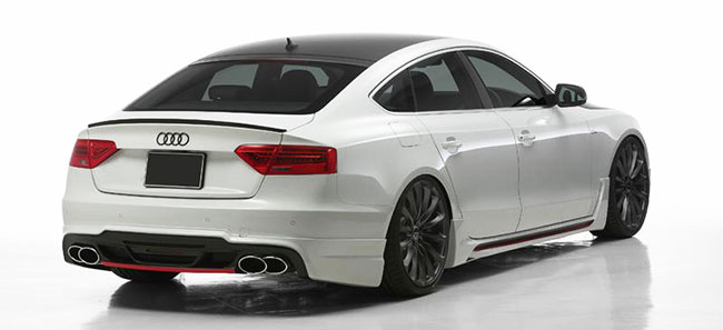 For ALL Audi A5 S5 RS5 B8 Rear Trunk Boot Spoiler Lip Wing ...