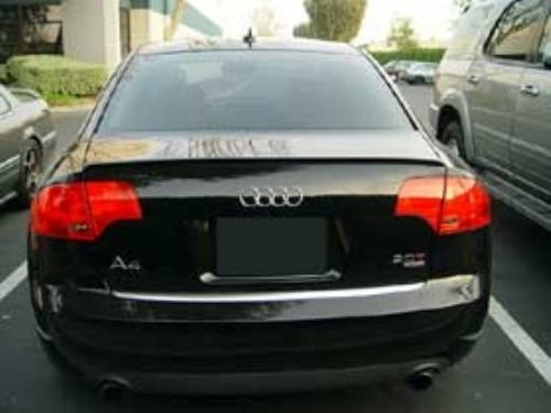 Audi A4 S4 Rs4 B7 Sedan Rear Trunk Boot Spoiler Lip Wing Sport Trim Lid S Line Ebay