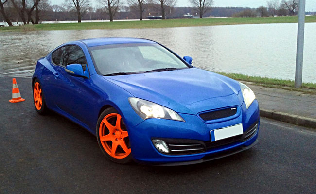 Details About Front Per Cupra R Euro Spoiler Lip Valance Splitter Fr Hyundai Genesis Coupe