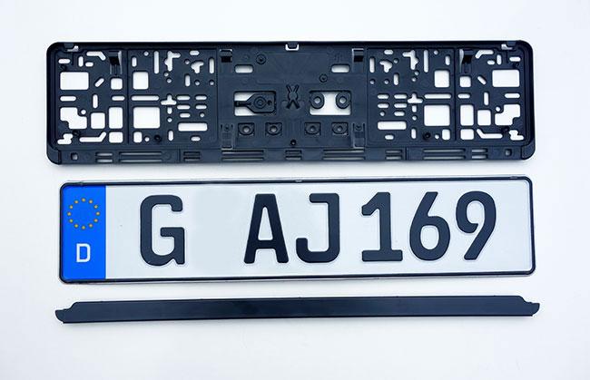 ORIGINAL German License Plate Jaguar Isuzu Infinity Hyundai Honda GMC Ford-Acura